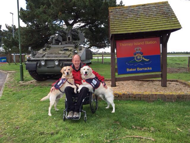 Charity hounds for heroes emsworth chiropractor chiropractic back pain walk military thorney island hampshire